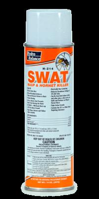 SWAT WASP & HORNET KILLER (14 OZ)