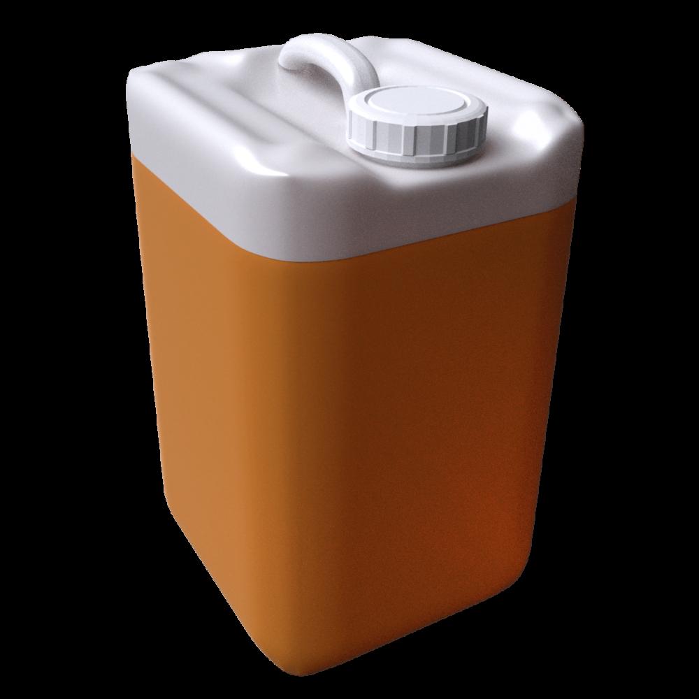 3d pail orange