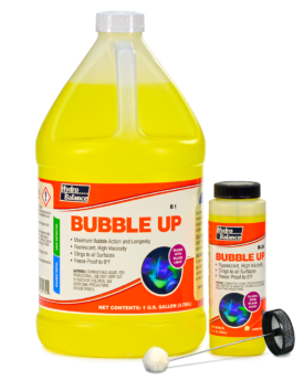 BUBBLE UP FLUORESCENT LEAK DETECTOR