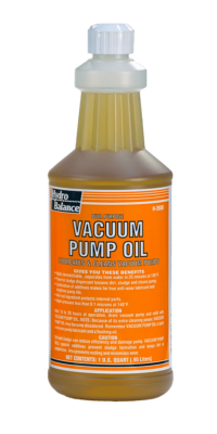 DUAL PURPOSE VACUUM PUMP OIL (32 OZ)